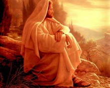 Jesus in contemplation